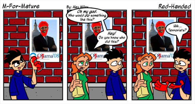 Red-Handed by MFM-comics