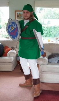 First Time Cosplay - Link (3) by SuedeHatBatLord