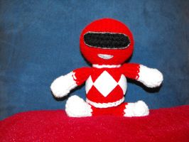 Red Power Ranger by Ginger-PolitiCat