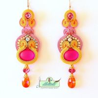 Soutache Earrings by DILETTANTEsoutache