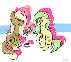 Tea party by SilberSternenlicht