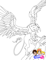 Griffon by Writer-Colorer
