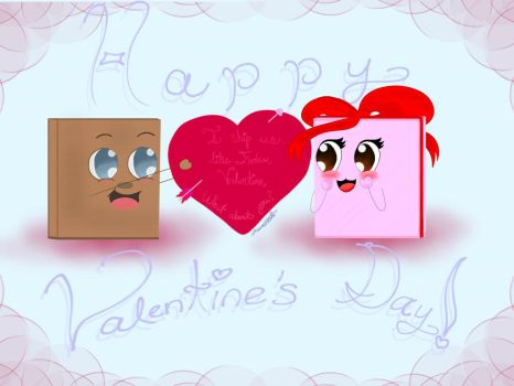 {VALENTINE'S DAY SPECIAL} Tiny Boxes Tim x Tina by Fansonia