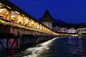 Luzern By Night by pers-photo