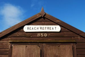 Beach Retreat - Felixstowe by PhilsPictures