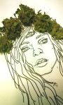 leafy cannabis crown queen by HiddenStash