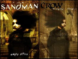 Sandman and The Crow Covers by rizaturker