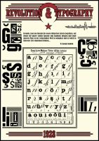 Typographic Revolution by onure