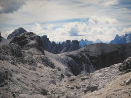 Paths of the Dolomites by spinngewebe