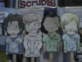 Scrubs Puppets by kakashiLOVEU