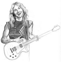 Dave Murray by Iron-Beast