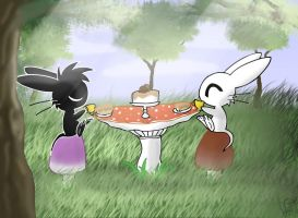 Tea for Two by Electric-Mongoose