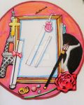 Life through the picture frame or mirror by PieChan34-Creations