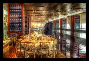 Dining with Bill and Hill HDR by joelht74