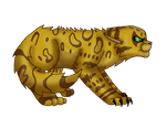 -Leopardstar- WCC by WaterPhoenixWarrior