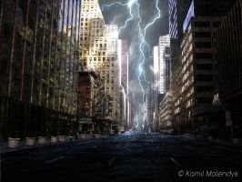 Flooded New York by Kamy22