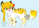 Lilly Gold Chibi by jellowpaw