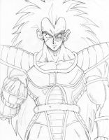 Raditz by ShinMitsuomi
