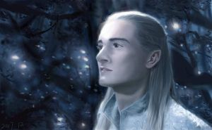 The Lord Of The Rings--Legolas by kashipopo