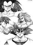 Saiyan Brothers by Sylerna