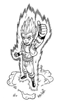 Thumbs Up for Gotenks by Godsartist