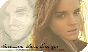 Hermione Granger signature by carThaisa