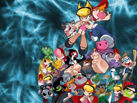Billy and Mandy Wallpaper by gamefanPPG