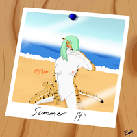 Summer's End (Ver 1) by Psych0Dog