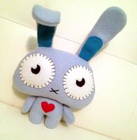 Stitch Bunny Plush Collab with Pixopop by Shlii