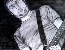 Modest Mouse - Isaac Brock by Valkyrre