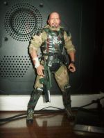 The Rock (Aliens) Colonial Marines by GustavoChoves