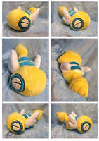 Dunsparce Plush by Glacideas