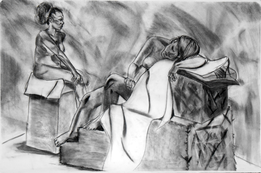 Life Drawing I Final 2 by MikeyWayluver013