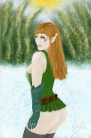 Elea elf from Northen Pole by Bohy