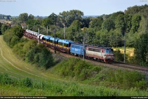 CDC 230-028+230-109 Pn64203 Trebesice 28-08-14 by Comboio-Bolt