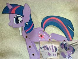 Paper Toy: Twilight Sparkle by Trunksi
