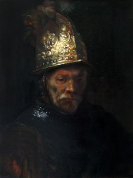 Man With The Golden Helmet (old master study) by bKdamir1337