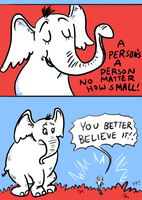 Horton Hears a Who? by fish-puddle