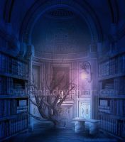 Library by vulcania