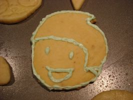 George Harrison Cookie by Queen-obsession