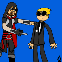 Ezio Auditore and Dave Strider by legoman1203