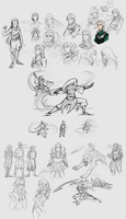 Old Sketches by JenRos