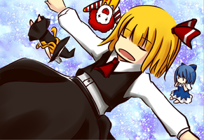 Rumia's time by xibei