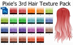 Hair Texture Pack 3 by MissingPixieSticks