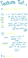 Texture Tutorial by Jellygay