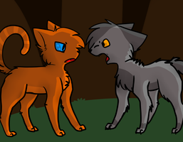Yellowfang isn't pleased by SlCKS