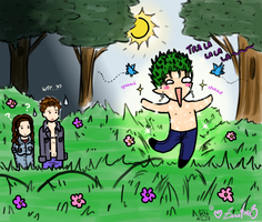 + Prancing in the Meadows + by zoro4me3