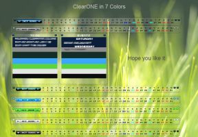 Final ClearONE Calendar by Go-Fast