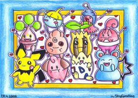 Baby Pokemon by SkyGiratina00