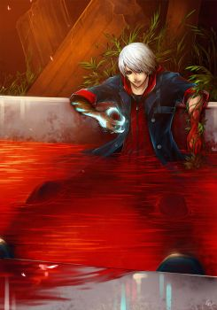 Devil_May_Cry: Nero by Unodu